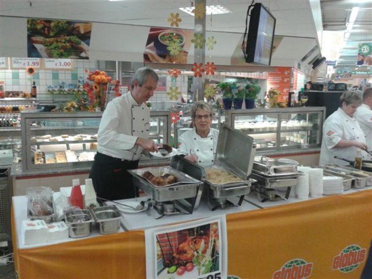 Globus Pasta kochen 2013